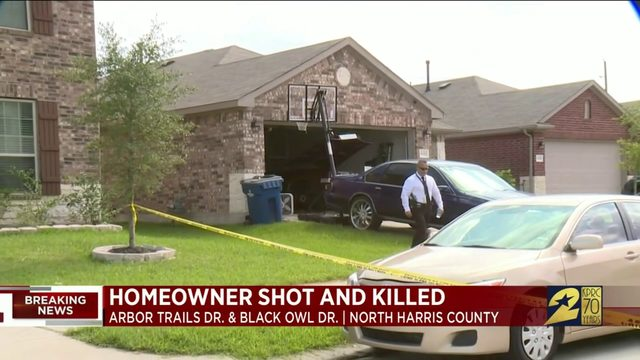 Homeowner shot and killed