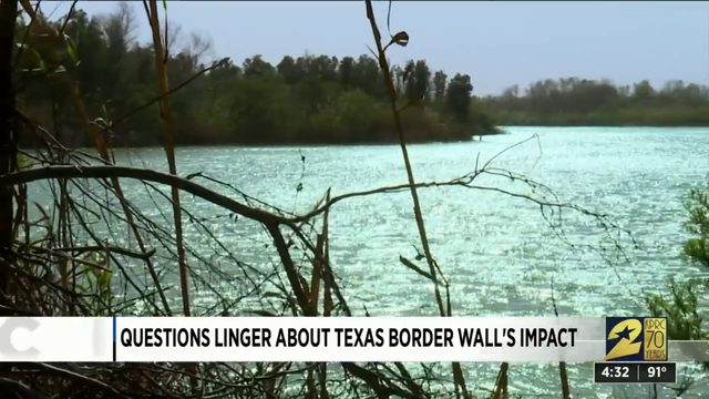 Questions linger about Texas border wall's impact