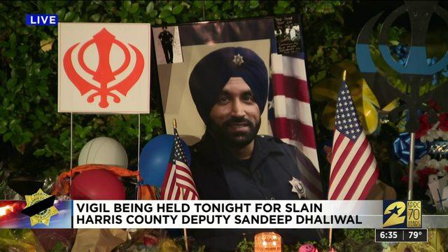Vigil set to honor slain Harris County deputy