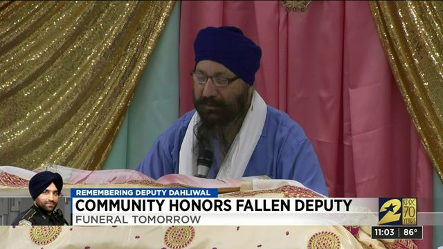 48-hour prayer vigil for Dep. Dhaliwal continues Tuesday ahead of funeral