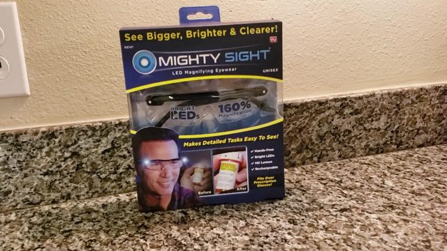 Magnifying LED glasses claim to help you see bigger, brighter and clearer
