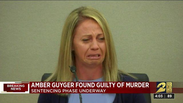 Amber Guyger found guilty of murder