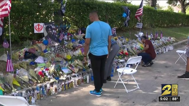 Fallen deputy honored during National Night Out