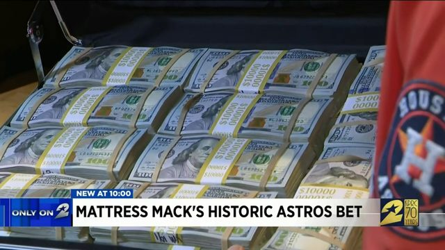 Mattress Mack's historic Astros bet