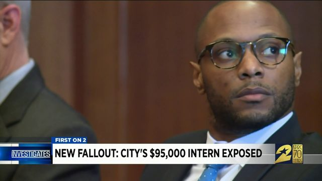 New fallout: City's $95,000 intern exposed