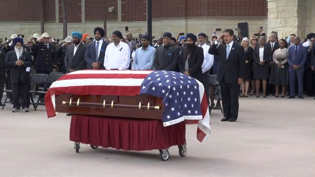 LIVE COVERAGE: 'Final salute' given to Deputy Dahliwal