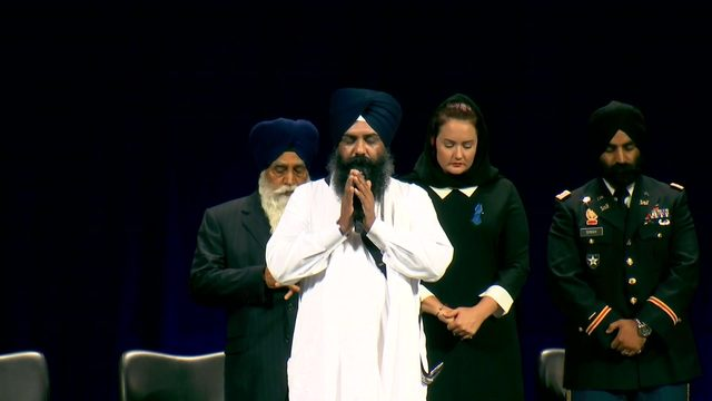 LIVESTREAM: Law enforcement memorial for Deputy Dhaliwal at Berry Center