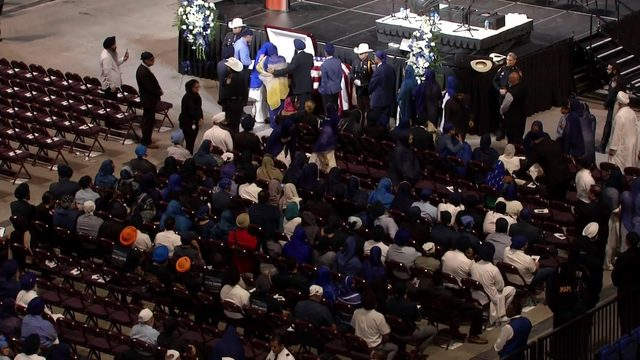 LIVESTREAM: Viewing for Deputy Dhaliwal underway at Berry Center