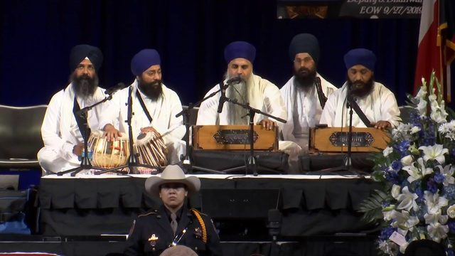 LIVESTREAM: Sikh funeral for Deputy Dhaliwal underway at Berry Center