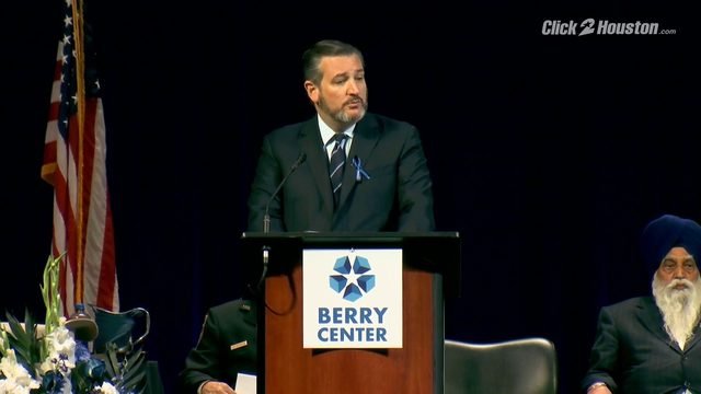 Sen. Ted Cruz discusses Deputy Dhaliwal's legacy