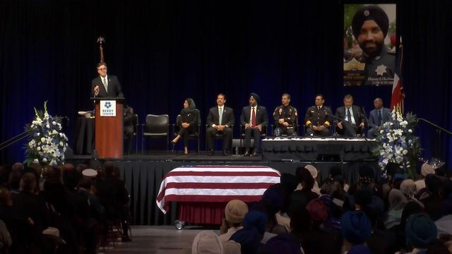 'Go out and be a Sandeep Dhaliwal': Houston honors fallen deputy