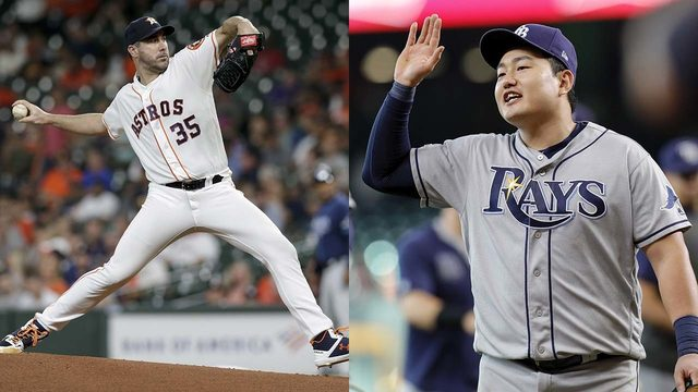 Astros to face Rays in 2019 American League Division Series