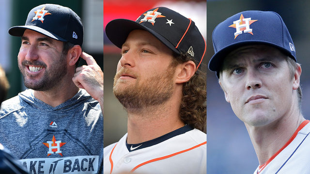 Astros set rotation for first 3 games of ALDS; Correa expected to play