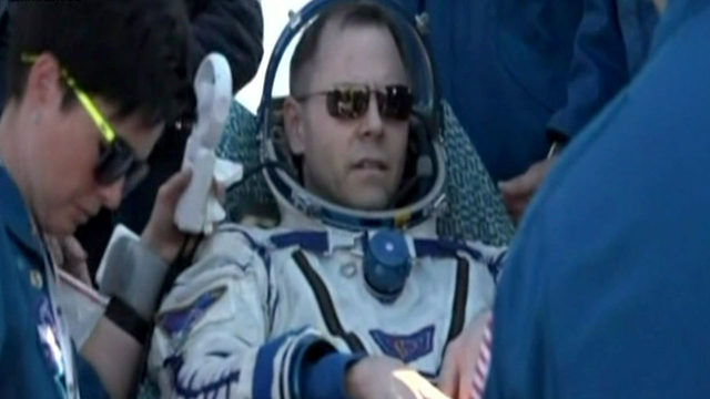 Friendswood astronaut returns from International Space Station