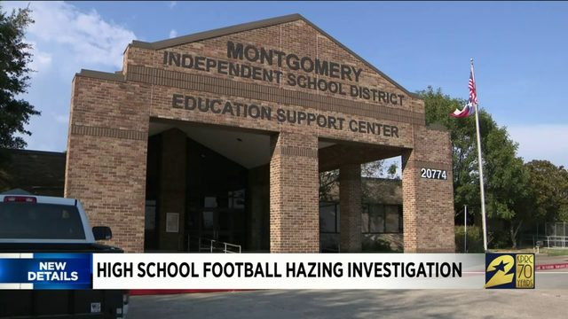 High school football hazing investigation