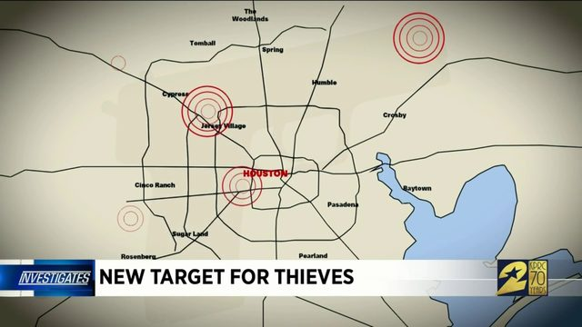 New target for thieves