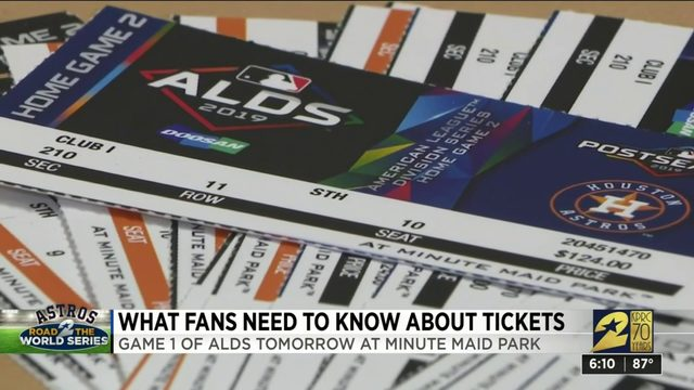 What fans need to know about Astros tickets