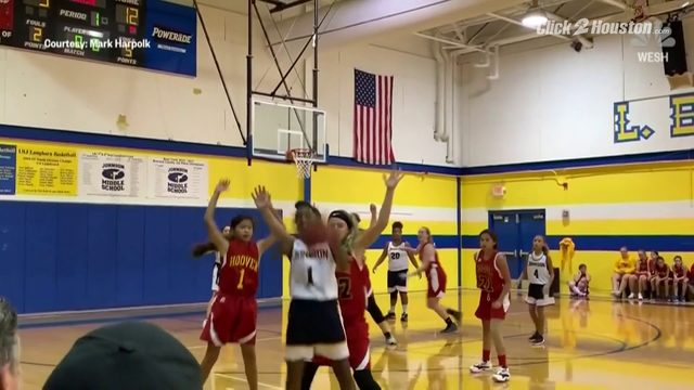 Shot of a lifetime! 12-year-old girl nails backwards buzzer-beater