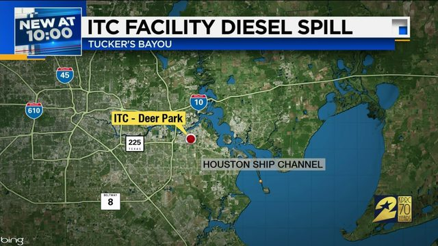 ITC Facility Diesel Spill