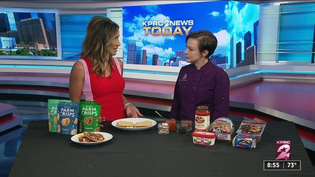 Stephanie Bell shares pizza sandwich recipe for National Pizza Month