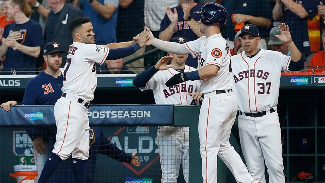 Astros look for ALDS sweep in Tampa