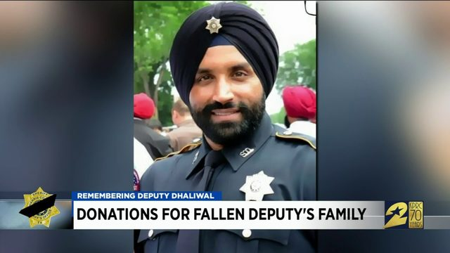 Donations for fallen deputy's family