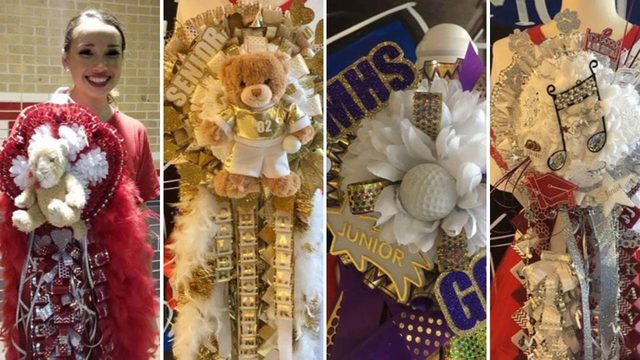 God bless Texas and all the homecoming mums: Inside a Texas tradition…