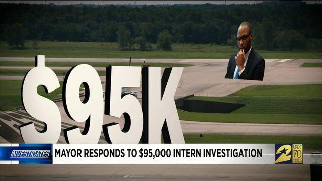 Mayor responds to $95,000 intern investigation