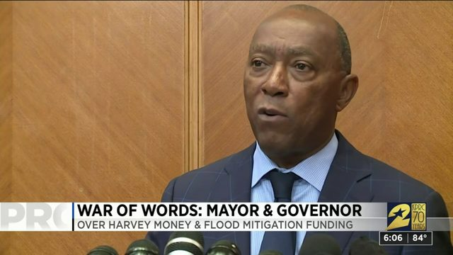 War of words: Mayor and governor