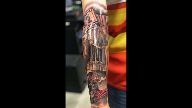 15 amazing photos of fans showing off their Astros tattoos
