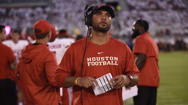 Get to know UH football's Justin Johnson, aka 'Coach Juice'