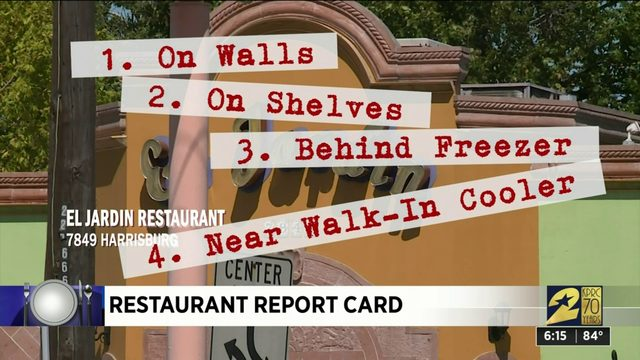 Restaurant Report Card: Oct. 10