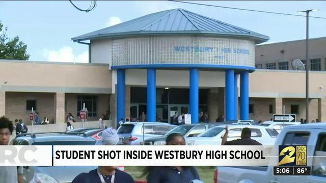 Student shot inside Westbury High School