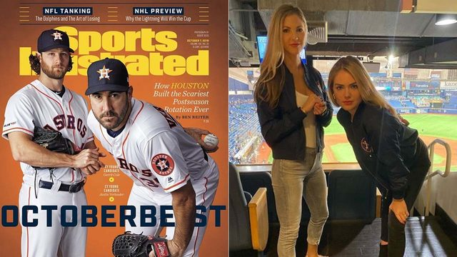 WHO DID IT BEST? Kate Upton, Amy Cole recreate their husbands' Sports…