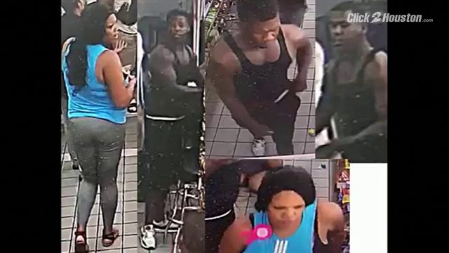 JUST BRUTAL: Woman kicked in head, robbed at Houston Valero
