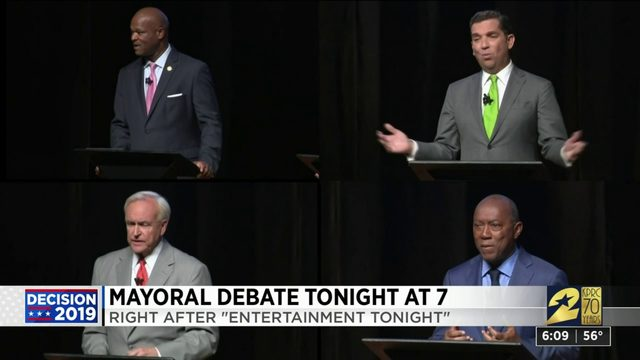 Mayoral debate tonight at 7