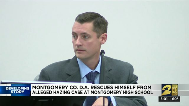 Montgomery County DA recuses self from hazing investigation due to…