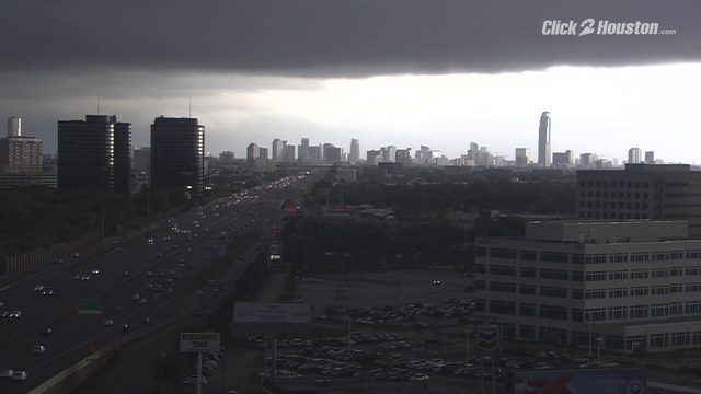 TIME-LAPSE: Watch the cold front drift into Houston
