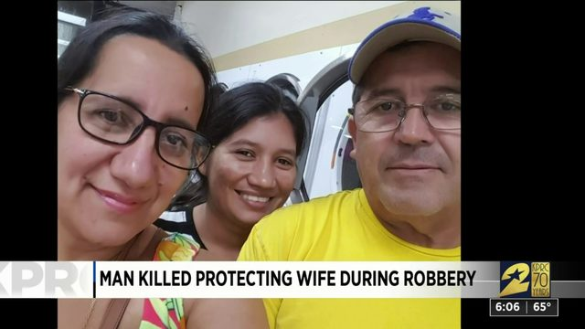Man Killed Protecting Wife During Robbery