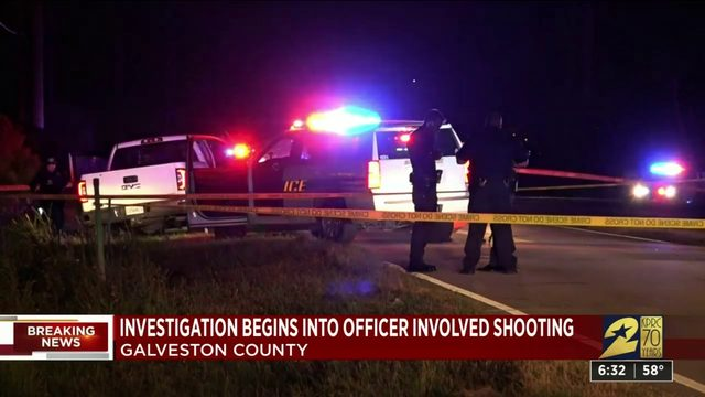 Disturbance call escalates to officer-involved shooting in Galveston Saturday