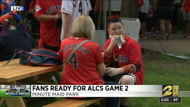 Fans Ready for ALCS Game 2