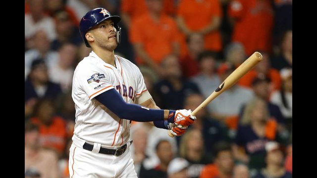 PHOTOS: Astros take on Yankees in ALCS Game 2