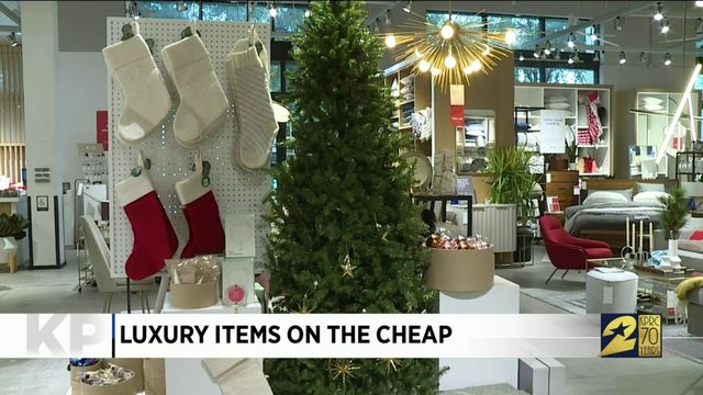 Luxury items on the cheap