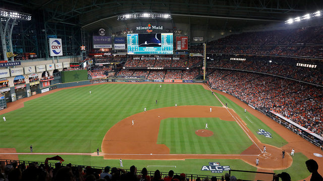 How to claim your free Astros ALCS Watch Party voucher at Minute Maid Park