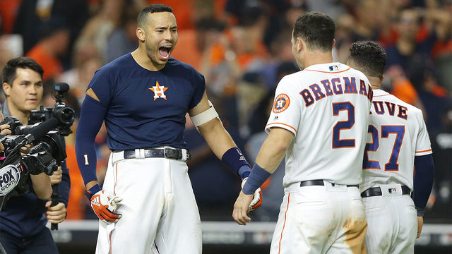 Correa 11th-inning home run lifts Astros over Yankees 3-2