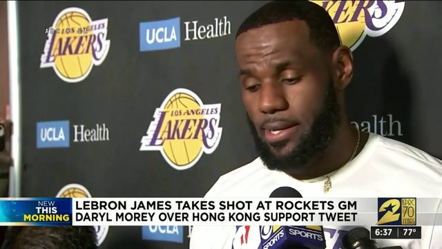 LeBrone James take shot at Rockets GM