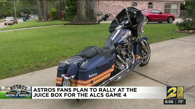 Astros fans plan to rally for the ALCS game 4