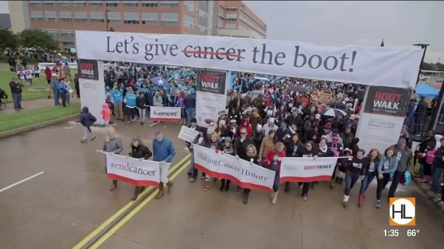 Help give cancer the boot with this annual event | HOUSTON LIFE | KPRC 2
