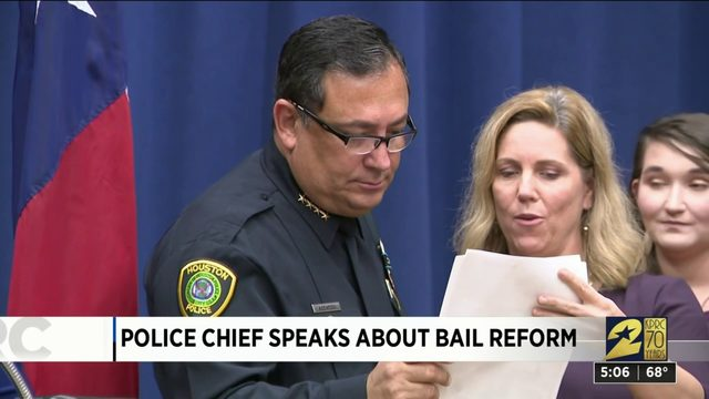 Police chief speaks about bail reform