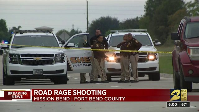 Road rage shooting in Mission Bend